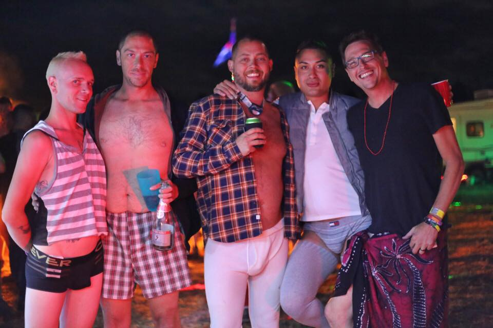 Gay underwear party